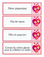 Mémos surprises-Les lutins de la Saint-Valentin