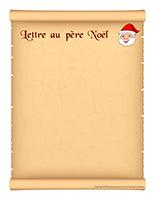 Modèle-Lettre au père Noël