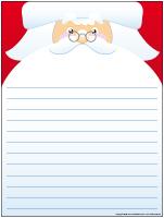 Modèles - Lettre au père Noël