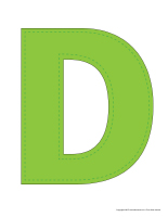 Modèles-Lettre D
