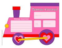 Modèles-Tableau d'acceuil-La Saint-Valentin-1