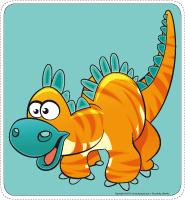 Mon chemin de dinosaures