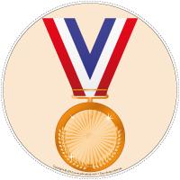 Mon chemin de médailles