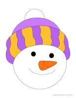 Morceaux bonhomme de neige-géant-2