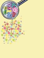 Papier à lettre - Les microbes