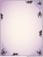Papier à lettres - Les araignés