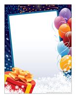 Papier à lettres-Bonne année 2014