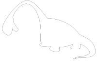 Pochoirs - Les dinosaures