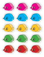Les animaux marins activit s pour enfants educatout - Poisson dessin couleur ...
