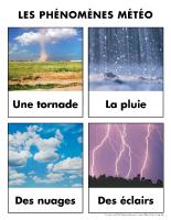 Poni découvre et présente-La météo