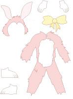 Poupée à habiller - Les lapins