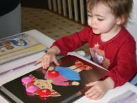 poup e maison aimant e activit s pour enfants de 0 36 mois. Black Bedroom Furniture Sets. Home Design Ideas