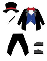 Poupées à habiller-Le magicien