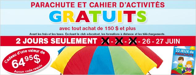 Parachute gratuit