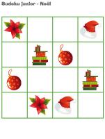 Sudoku junior Noël