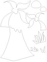 Tableau de feutrine - Les dinosaures