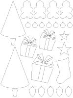 Tableau de feutrine-Noël