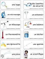 étiquettes-mots - Les sciences