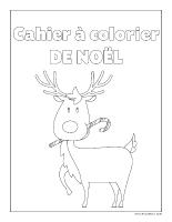 images à colorier-Cahier de Noël 2013