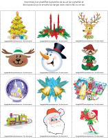 jeu de la loupe – Noël