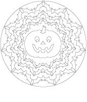 mandalas - Halloween