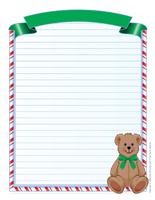 papier à lettres – Noël