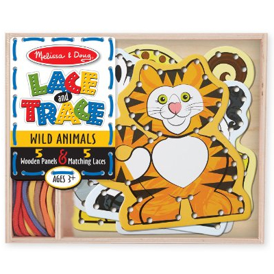Wild animals – Lacing and Tracing from the Melissa & Doug collection