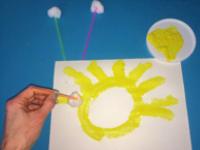 10 idées de choses à faire avec des boules de ouate-4
