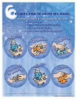 6 étapes pour se laver les mains