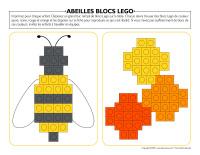 Abeilles blocs-Lego