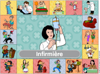 Affiche - Infirmière