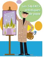Affiche - Les talents artistiques de papa