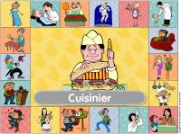 Affiche Cuisinier