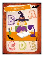 Affiche-Halloween-Ateliers créatifs-L'écriture