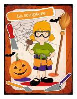 Affiche-Halloween-Ateliers créatifs-La sculpture