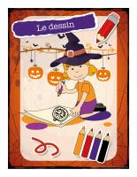Affiche-Halloween-Ateliers créatifs-Le dessin