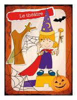 Affiche-Halloween-Ateliers créatifs-Le théâtre