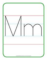 Affiche-Lettre Mm
