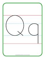 Affiche-Lettre Qq