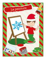 Affiche-Noël-Ateliers créatifs-La peinture
