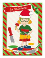 Affiche-Noël-Ateliers créatifs-La sculpture