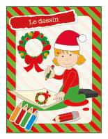 Affiche-Noël-Ateliers créatifs-Le dessin