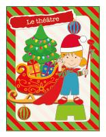 Affiche-Noël-Ateliers créatifs-Le théâtre
