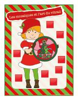 Affiche-Noël-Ateliers créatifs-Les mosaïques et l'art du vitrail