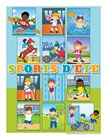 Affiche-Sports d'été
