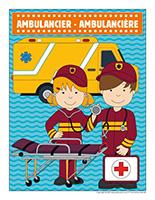 Affiche-ambulancier ambulancière