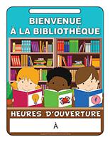 Affiche bibliothèque