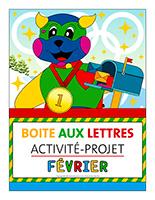Affiche-boite aux lettres-Activité-projet-Février