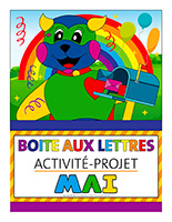 Affiche-boite aux lettres-Activité-projet-mai