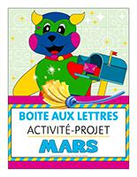 Affiche-boite aux lettres-Activité-projet-mars